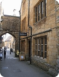 Outside view of Sherborne Museum