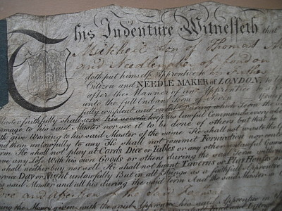 Letter of Indenture