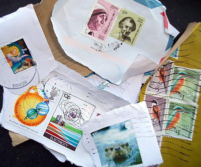 Recycling stamps
